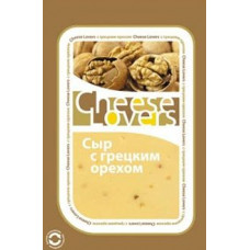 Cыр Chees Lovers с грецкими орехами 50% нарезанные ломтики 150г (РА)