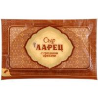 Сыр Ларец с грецкими орехами 50% кусок 255г (РА)