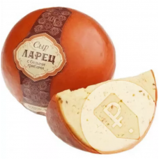 Сыр Ларец с белыми грибами 50% (РА)