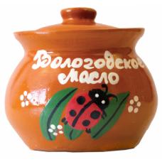 Масло Крестьянское 72,5% 400г кер/горшочек (ВЛ)
