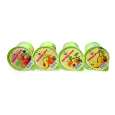 Био-йогурт фрукт. 2,5% 0,2л п/стакан (ВМК)