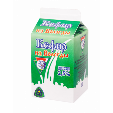 Кефир 2,5% 470г (УОМЗ)