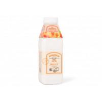 """Йогурт """"Асеньевская ферма"""" Персик 2,5% 450г пэт-бут. (АФ)"""