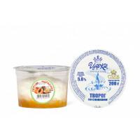 Творогсосливками(персик-маракуйя) 5%200г(ЦарКа)